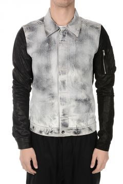 DRKSHDW COLD WORKER Jacket in Denim
