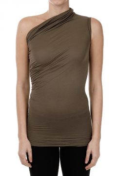 Draped Neck Top Dna Dust