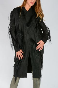 Leather BLACK DAGGER PEA Jacket