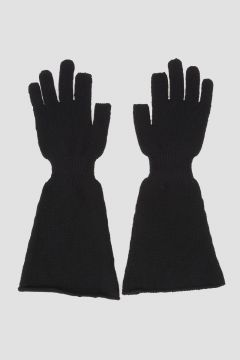 Virgin Wool Knit Gloves