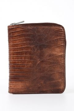 Leather NEW SMALL WALLET in BLOOD