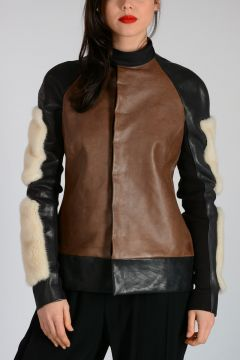Leather  LOTA JACKET
