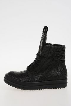 Leather BB GEOBASKET PYTHON Sneakers
