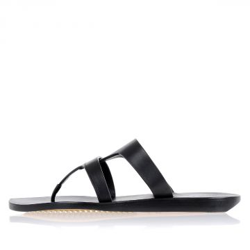 NAUTILUS Thongs Sandal in Leather