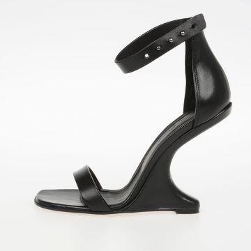 Sandali in Pelle Tacco 11cm