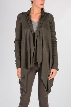 Cardigan MEDIUM WRAP in Lana Vergine