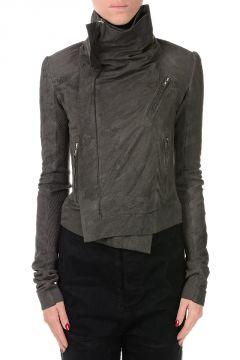 Leather Jacket CLASSIC BIKER darkdust