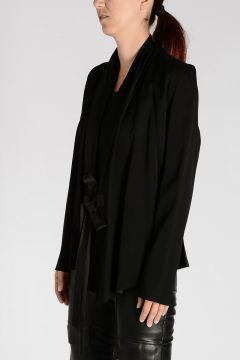 Giacca WRAP TOP in Crepe