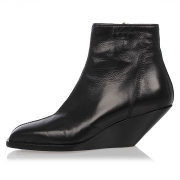 Leather ANKLE BOOT SLIVER