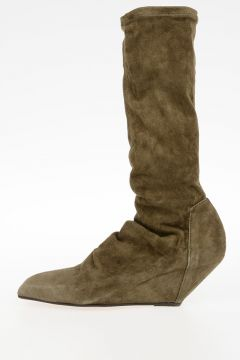 Leather SOCK SLIVER boots PALM