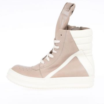 Leather GEOBASKET Sneakers  BEIGE/MILK/WB
