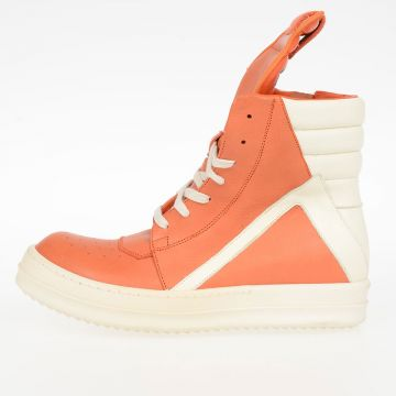 Sneakers Alte GEOBASKET in Pelle PAPAYA