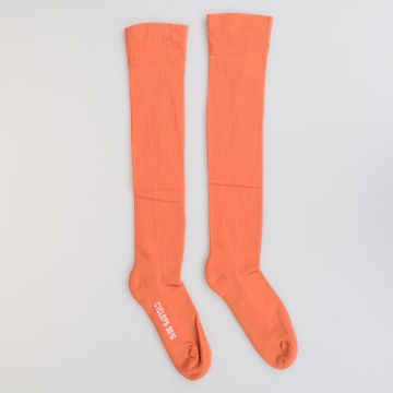Cotton JACK SEASON & EYE Knee High Socks PAPAYA/MILK