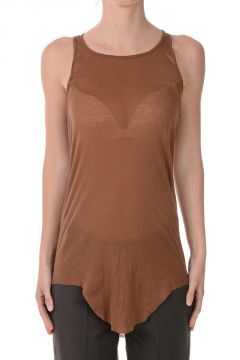 Cotton Asymmetric Cut top