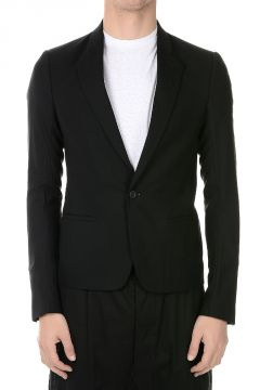 SHORT SOFT Virgin Wool Stretch Blazer