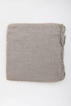 Linen Blend SANDY Scarf PEARL 140X200 cm