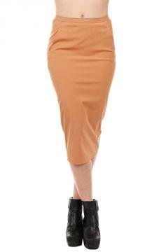 Cotone Misto SOFT PILLAR SHORT Skirt SQUASH