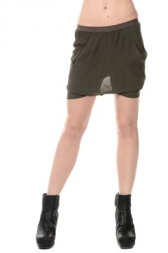 Silk BUD Shorts Pants