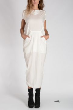 Cotton FLOATING Dress MILK