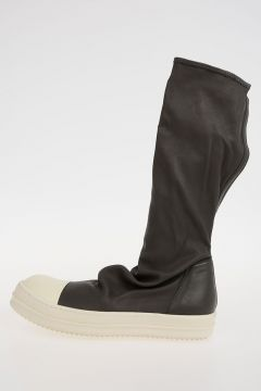 Leather SOCK SNEAKS Sneakers DARKDST/WB