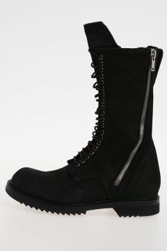 Stivali DB ZIP LACE UP BOOT ARMY SOLE in Pelle