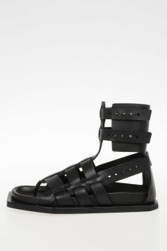 Leather FLAT GLADIATOR Sandals