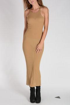 Silk Blend TANK Dress ONYX