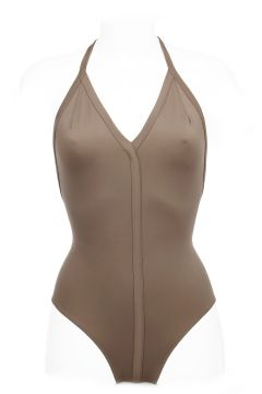 One-piece Swimsuit in Stretch Fabric