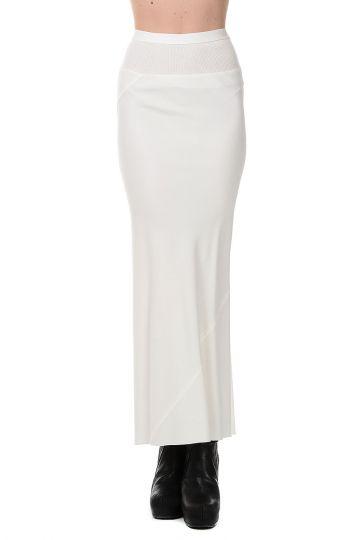 CALF LENGHT Milk Skirt