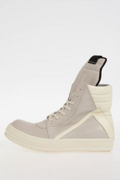 Leather GEOBASKET Sneakers PEARL/MILK