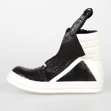 Sneakers GEOBASKET SNAKE in Pelle di Serpente