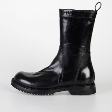Leather CREEPER ARMY SOLE Boots
