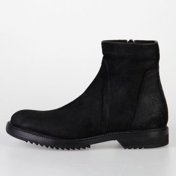 Leather CREEPER SLIM Ankle Boots