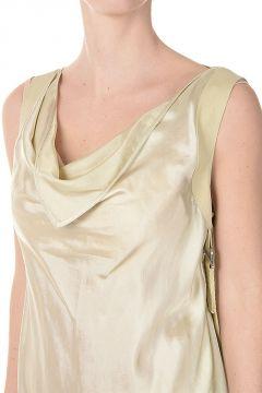 Sleeveless HARNESS Dress ALMOND