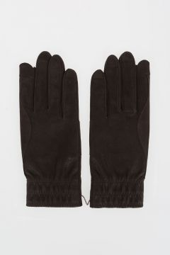 Leather SHORT GLOVES