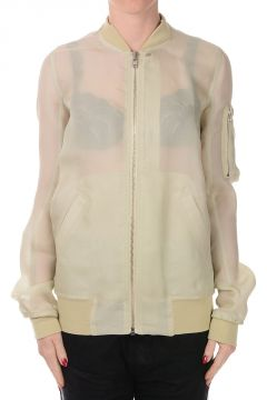 Bomber in Seta ALMOND