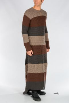 Wool Maxi Dress FLARED DRESS
