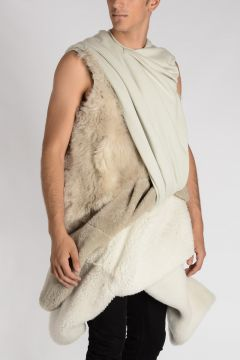 Sleeveless Shearling EMOTION Tunic
