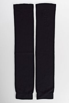 Cashmere Knit Leg Warmer BLACK