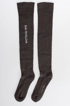 Virgin Wool High Socks DNA DUST