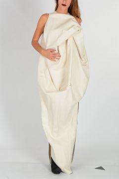 LA BREA DRESS in Vanilla