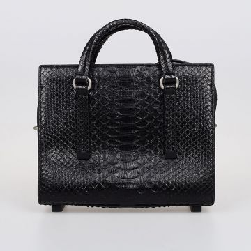 Borsa MICRO EDITH SHOULDER BAG in Pelle di Serpente