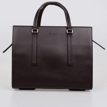 Leather MINI EDITH Bag MACASSAR