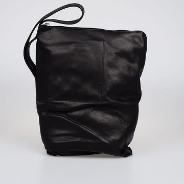 Leather LARGE BUCKET Shoulder Bag