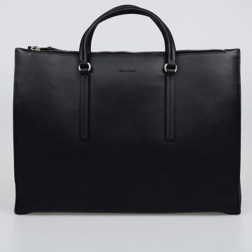 Leather EDITH HORIZONTAL Shopper