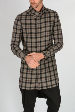 Virgin Wool SAMPLE ISLAND Shirt
