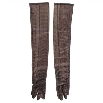 TOUCHSCREEN Gloves in Python Leather