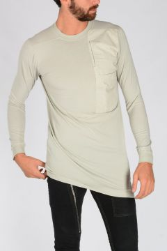 DRKSHDW POCKET LS TEE T-shirt in DINGE