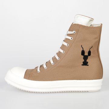 DRKSHDW Sneakers in Tessuto CAMEL