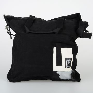 DRKSHDW Cotton LARGE MESSENGER Bag with Patch